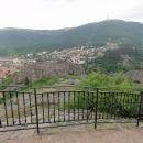 Městečko Bělogradčik uprostřed hor a skal