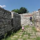 Antická pevnost nad městem Montana