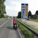 Jedeme po svých, 11 kilometrů to máme i přes Slovinsko