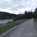 Úplnou náhodou jsme natrefili na cyklostezku podél řeky Gail.