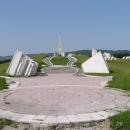 Velký památník na válečné boje pod vedením Titových partyzánů