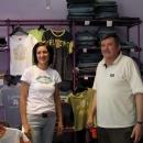 Ve firemní prodejně Exterra – dostáváme každý na cestu od majitele 5 triček!