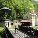 V klášteře Klisura