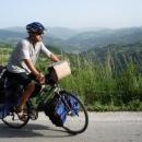 Pavel a výhledy na srbské kopce