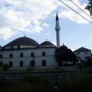 Naše první mešita na výpravě před Novým Pazarem