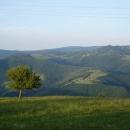 Podvečer v srbských kopcích