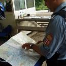 Porada s maďarským příslušníkem KFOR na celnici