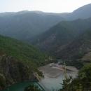 Vysoko nad hladinou další přehrady