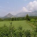 Černohorské hory u pobřeží