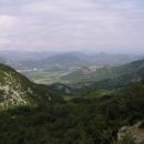 Pohled do čerhohorského vnitrozemí