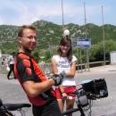 Sympatická poskytovatelka turistických informací u Skadarského jezera