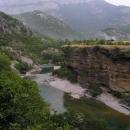 Řeka Morača mezi horami