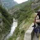 V kaňonu Morače