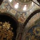 Uvnitř kláštera Morača