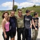 Setkání s místními lidmi, které jsem předtím potkali v Šavniku