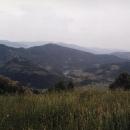 Řeka Drina, za ní je Bosna a Hercegovina