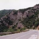 Vjíždíme do kaňonu řeky Ibar