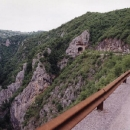 Cesta kaňonem řeky Ibar