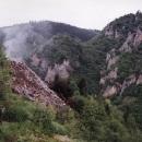 Nechutná skládka v kaňonu Ibar