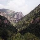 Pohled do Rugovské soutěsky