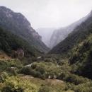 Rugovská klisura - jedna z nejhezčích soutěsek na Balkáně