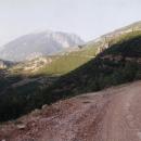 Tady už trpíme na Albánských cestách