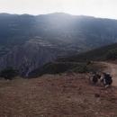 Na cestách v Albánii (trasa Kukesi - Peshkopi přes hory)