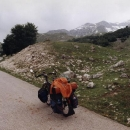 Začátek cesty okolo Durmitoru