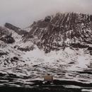 Pastviny na sněhu