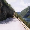 Podél přehrady je to už pohodička