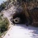 Cesta je samý tunel