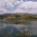 Jezero Klinje ve východní Bosně, republika Srpska