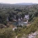 Ještě jeden pohled na vodopády Kravica