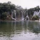 Vodopád Kravica na řece Trebižat