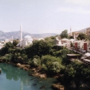 Mostar - muslimská část
