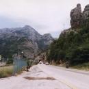 Vjezd do frekventovaného údolí Neretvy