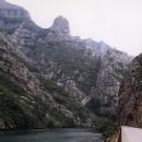 Kaňon Neretvy - krásný, ale viděli jsme hezčí :-)