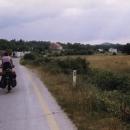 Přijíždíme na bosensko-chorvatskou celnici