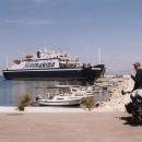 Semmarina - náš trajet zpět na pevninu do Splitu