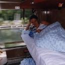 Markéta - reklamní foto na cestování v Jadran Expresu. Škoda, že tento spoj už nejezdí.