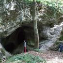 U jeskyně Vranovec