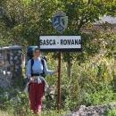 V Sasce-Romana začínáme trasu podél řeky Nery