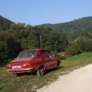 Typické rumunské vozidlo