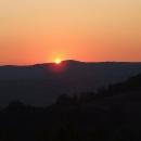 Západ slunce nad Banátem