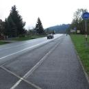 A další dny se už mělo počasí vylepšovat. Podél Rožnovské Bečvy stoupáme ho hor.