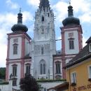 V Mariazell, největším poutním místě Rakouska