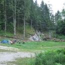 Táboření nadivoko v Rakousku