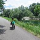 Traisentalradweg - blížíme se k Dunaji