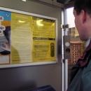 Informační automat s foťákem v obci Otročiněves