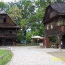 Další část skanzenu - Dřevěné městečko